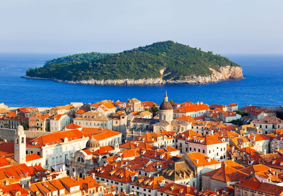 Dubrovnik-and-island-in-Croatia